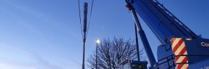5G Pole Installation
